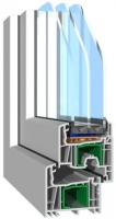 PVC-Fenster Streamline